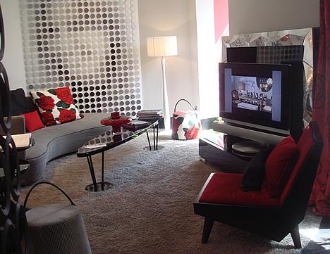 Televisor Habitación Principal CASA DECOR Madrid 2009