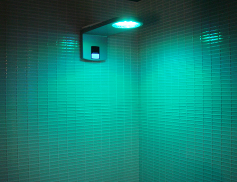 Ducha LED Suite de Hotel CASA DECOR Madrid 2009