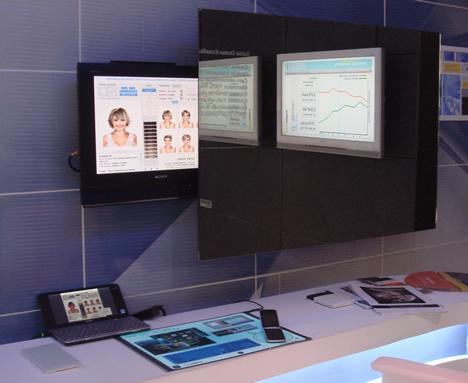 Asesor Virtual Peluquería Marco Aldany CASA DECOR Madrid 2009