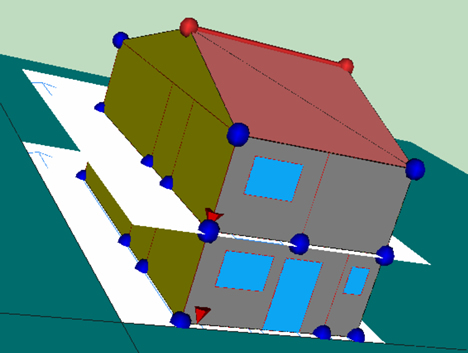 Grafico Programa LIDER Edificio 3D CTE Jung KNX