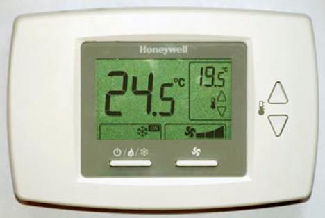 Honeywell Termostato Digital de Fan-Coil T6590