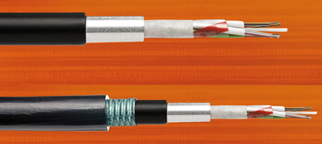 Cables holgados con tubo de aluminio de Optral