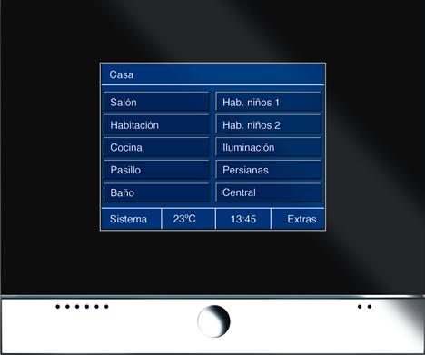 20090807 ABB Niessen Pantalla Tactil KNX Smart Touch PT-5 a PT-8