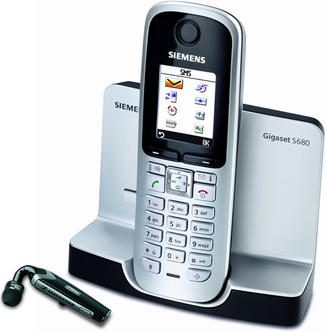 Sennheiser Communications FLX70 y Siemens Gigaset S680