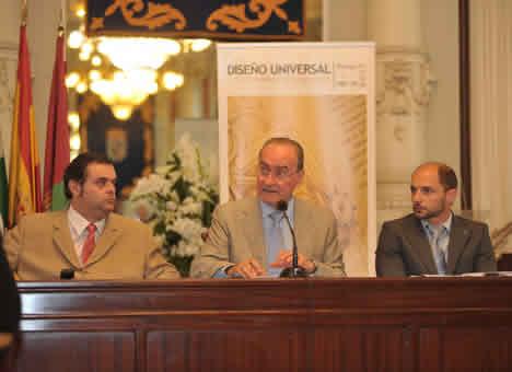 Ayuntamiento de Malaga y Fundacion ONCE Congreso Diseño Universal