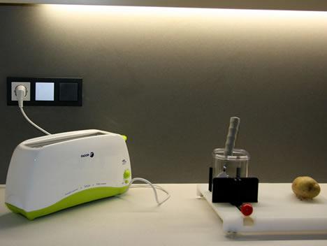 Cocina Colores System M de Schneider Electric en el Centro de Vida Independiente