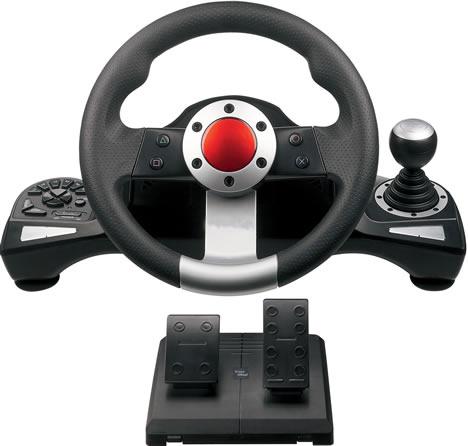 Grupo Strand 87 Volante Wireless DE Racing Wireless Wheel Dual Shock PS3