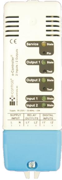 e-controler 2E2S PowerLine Lonworks 16/9/09