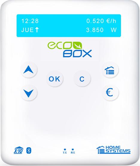 Pantalla ecobox de Home Systems