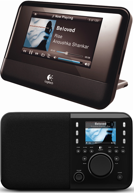 Squeezebox Touch y Squeezbox Radio de Logitech