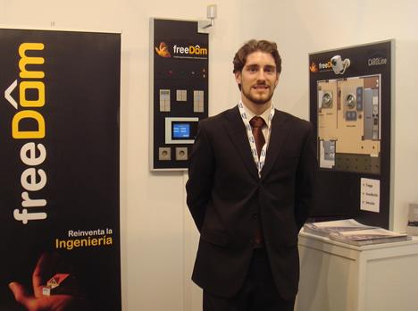 freeDôm en SIMO 2009 Hogar Digital KNX
