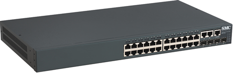 TigerSwitch SMC8126L2 de SMC Networks