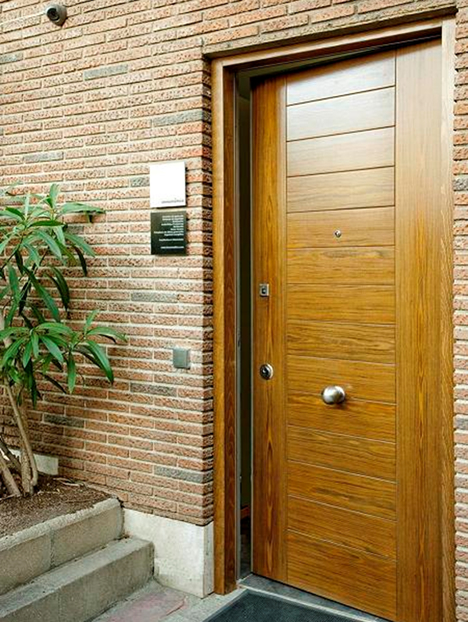 Puerta de Acceso Oficina INMOMATICA