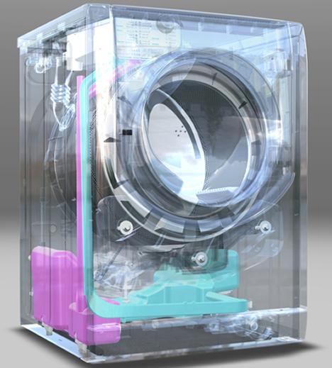 Lavadora Aqualtis con Dosificacion Inteligente AD System de Hotpoint