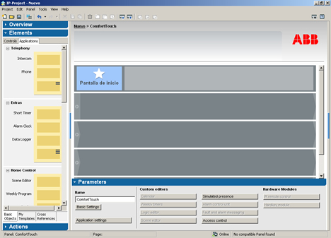 Software IP Project v 2.1 de NIESSEN EIB KNX