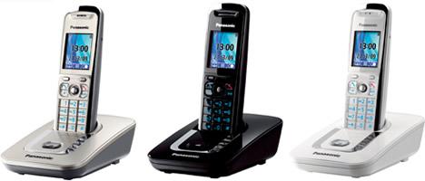 Teléfono Inalámbrico DECT KX-TG8411 de Panasonic