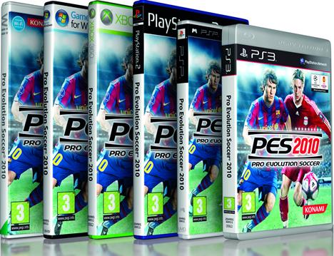 PES 2010 de Konami