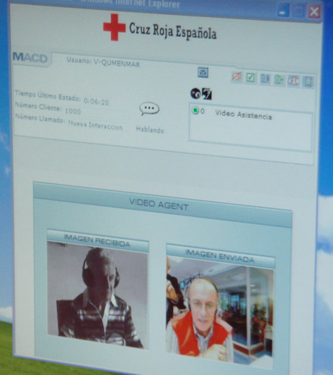 Interface Cruz Roja Interface Móvil proyecto 3G para todas las generaciones
