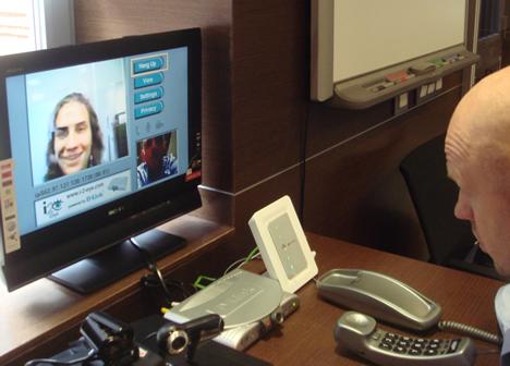 Prueba Videocomunicación Móvil Interface Móvil proyecto 3G para todas las generaciones