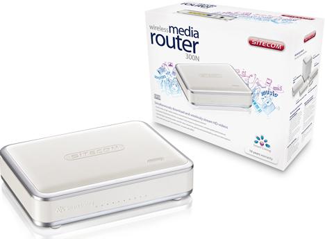 Wireless Media Router 300N de Sitecom