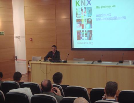 Cierre de Antonio Moreno KNX España del KNX Workshop