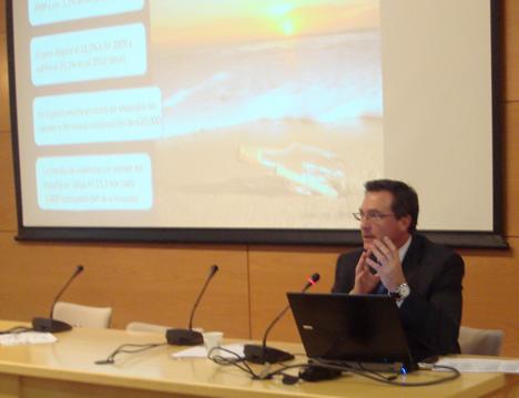 Enrique Ruz, KNX España, en el KNX Workshop