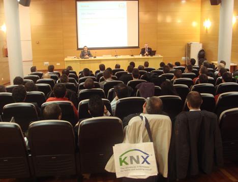 Vista General Sala General Sala KNX Workshop