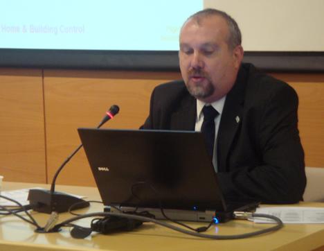 Michael Sartor, KNX España en el KNX Workshop