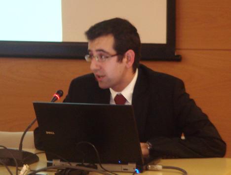 Sergio Colado de Nechi en el KNX Workshop