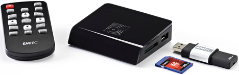 Reproductor Multimedia N120 de EMTEC