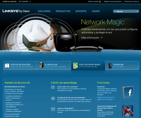 Linksys by Cisco Web