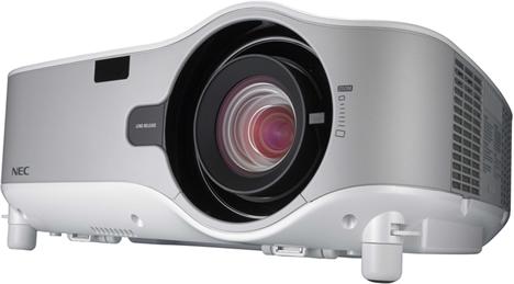 Gama de proyectores serie NP3250 de NEC Display Solutions
