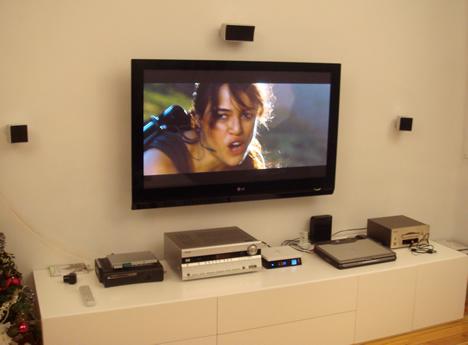 Ambiente con el Movie Cube S800H de EMTEC