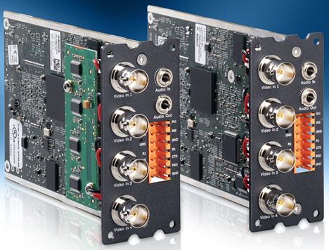 Módulos codificador de vídeo sobre IP VIPX1600 XF H.264 de Bosch