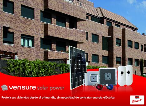Alarma Verisure Solar Power de Securitas Direct