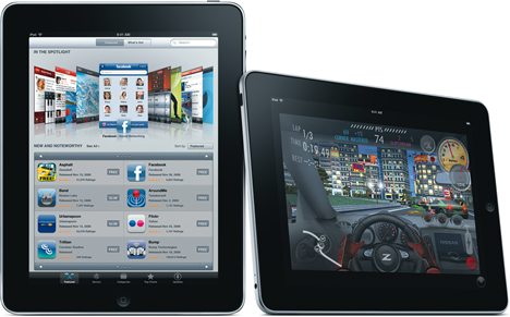 Apple iPad Juegos