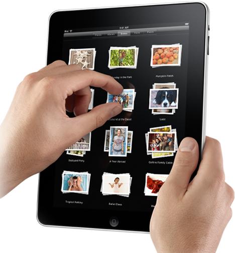 Multi Touch iPad Apple