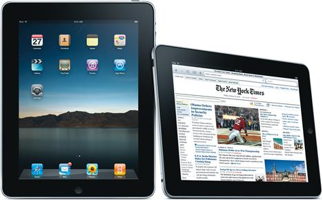 Apple iPad con New York Times