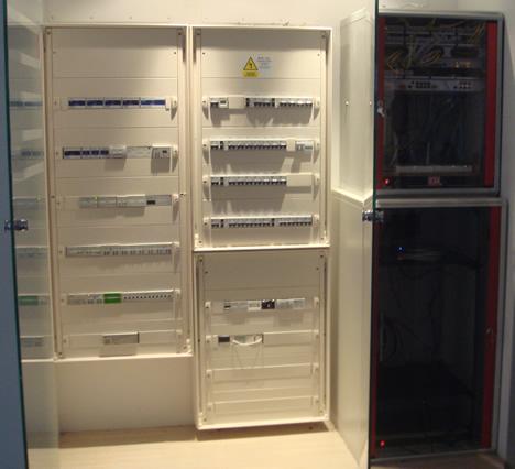 Armario Instalaciones Hogar Digital