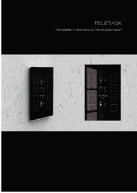 Catálogo Teletask 2010 Home Systems