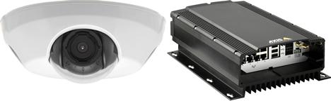 Video IP HDTV en Vehiculos de Axis