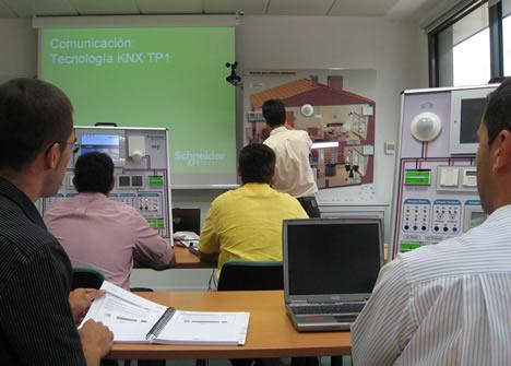 Curso Semipresencial KNX de Schneider Electric