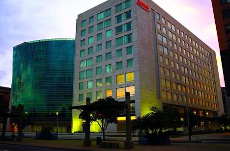 Exterior Hotel Marriott en Bogotá