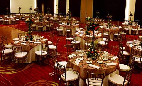 Restaurante Hotel Marriott en Bogotá