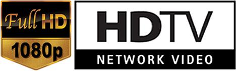 Logos Full HD y Network Video HD