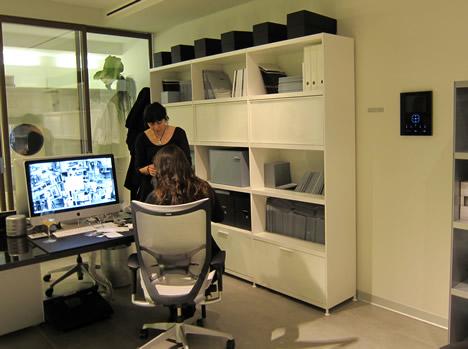 My Home de BTicino en Show Room Rimadesio