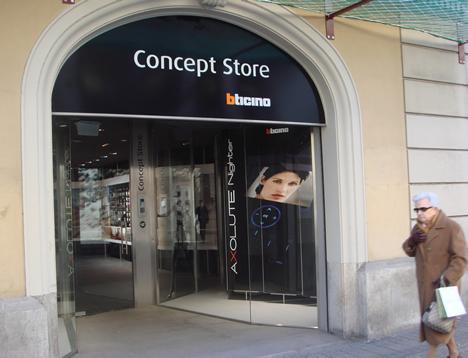 Exterior BTicino Concept Store