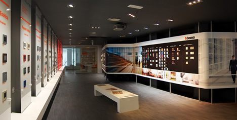 Panorámica BTicino Concept Store