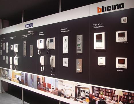 Videoporteros Concept Store BTicino