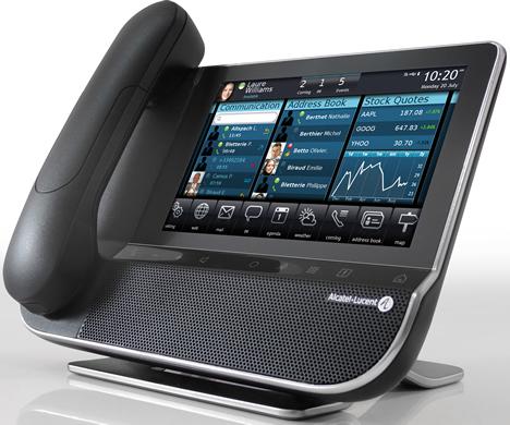 My IC Phone OmniTouc 8082 de Alcatel-Lucent